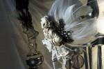 Jacqueline Treloar, Figurines on the Candelabra, detail